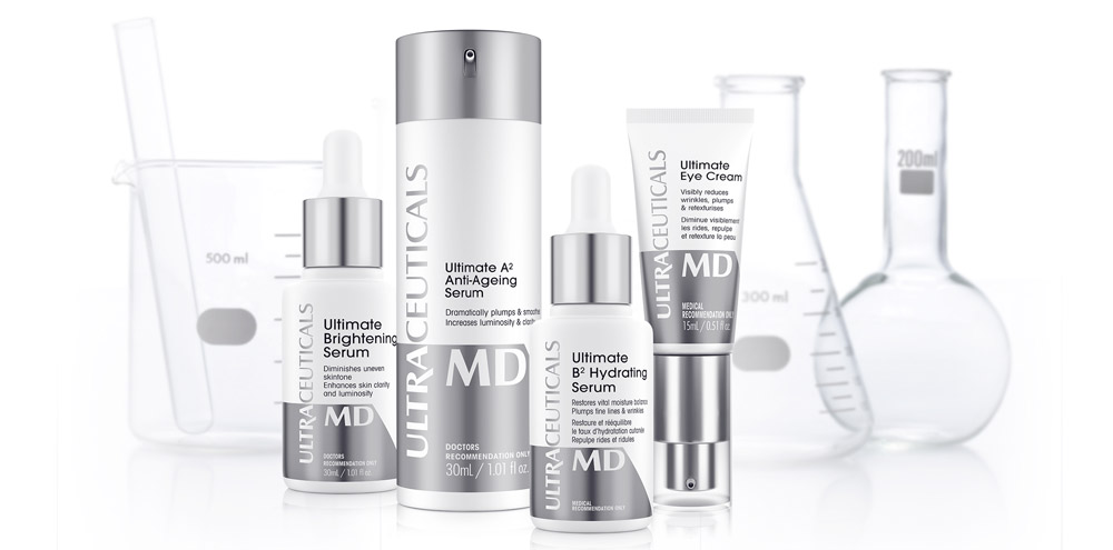 Ultra MD Skincare range by Ultraceuticals
